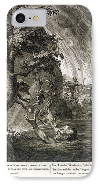 Punishment iPhone 7 Case - Tantalus Torment, 1731 by Bernard Picart