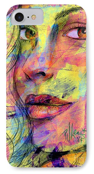 Tanya IPhone Case by P J Lewis