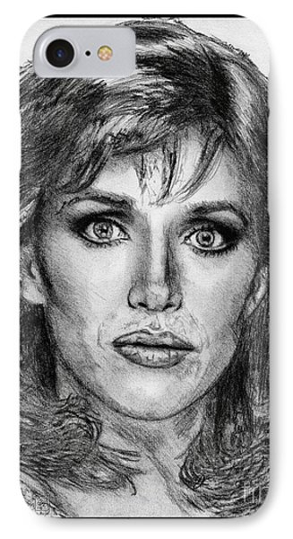 Tanya Roberts In 1981 Phone Case by J McCombie