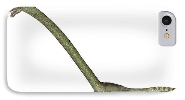 Tanystropheus Prehistoric Marine Reptile IPhone Case by Friedrich Saurer