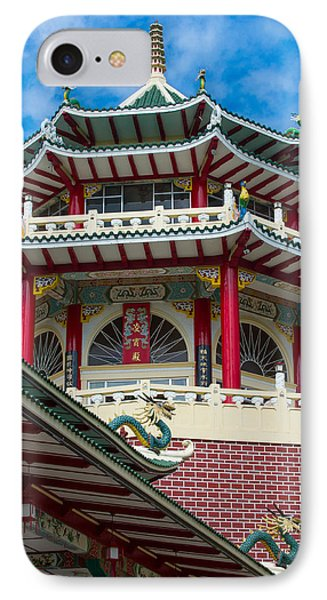 Taoist Temple Cebu Philippines IPhone Case by Avian Resources