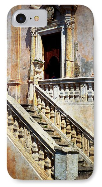 Taormina Staircase Phone Case by Carla Parris