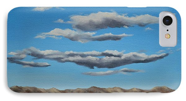 Taos Clouds Phone Case by Mary Rogers