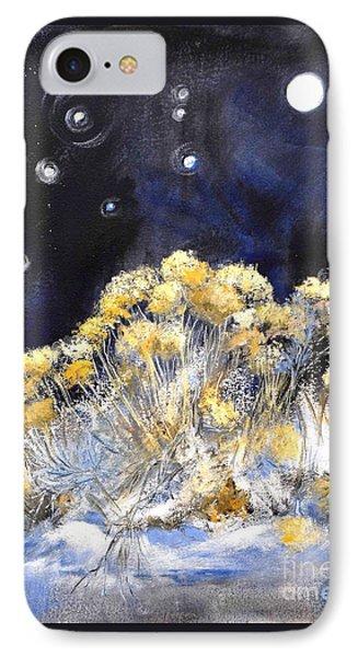 Taos Night Orbs IPhone Case by Glory Wood