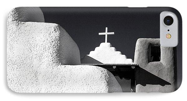 Taos Pueblo Chapel IPhone Case