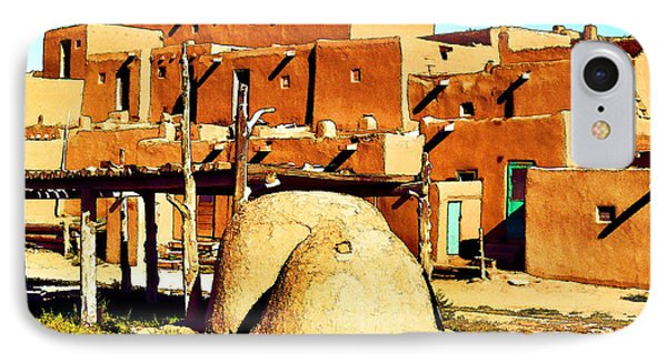 Taos Pueblo II Phone Case by Dan Dooley