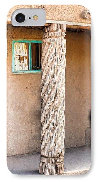 Taos Pueblo Study 3 IPhone Case