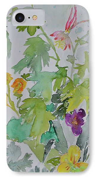 IPhone Case featuring the painting Taos Spring by Beverley Harper Tinsley