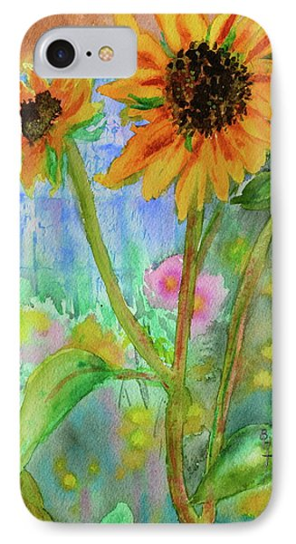 Taos Sunflowers Phone Case by Beverley Harper Tinsley