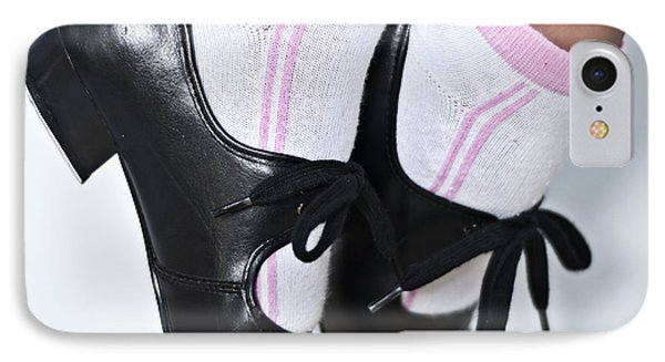 Tap Dance Shoes From Dance Academy - Tap Point Tap IPhone Case