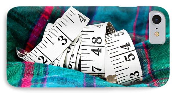 Tape Measure IPhone Case by Tom Gowanlock