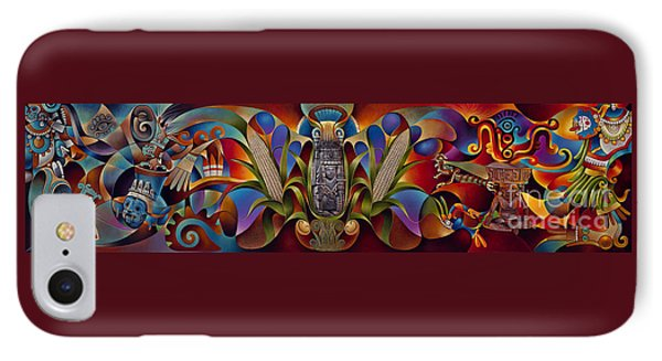Tapestry Of Gods Phone Case by Ricardo Chavez-Mendez