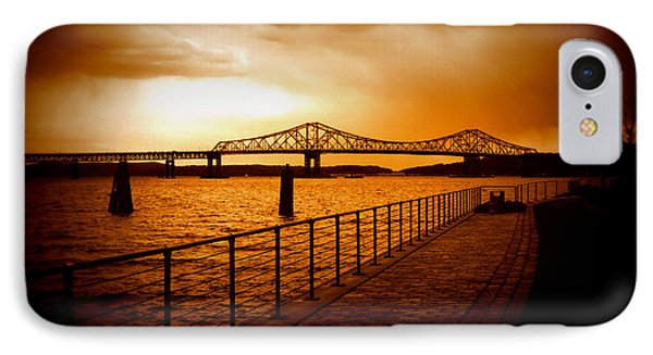 IPhone Case featuring the photograph Tappan Zee Bridge by Aurelio Zucco