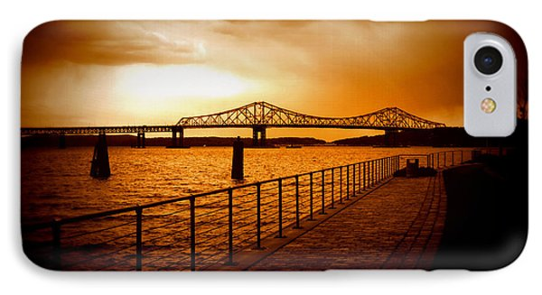 IPhone Case featuring the photograph Tappan Zee Bridge I by Aurelio Zucco