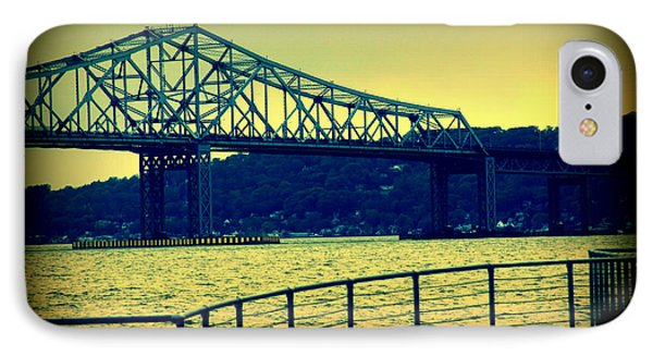 IPhone Case featuring the photograph Tappan Zee Bridge II by Aurelio Zucco