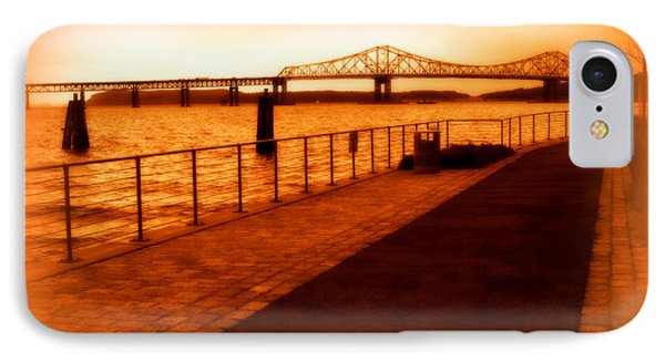 IPhone Case featuring the photograph Tappan Zee Bridge IIi by Aurelio Zucco