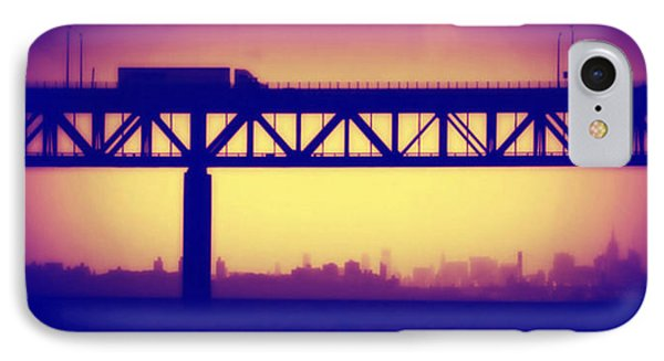 IPhone Case featuring the photograph Tappan Zee Bridge Iv by Aurelio Zucco