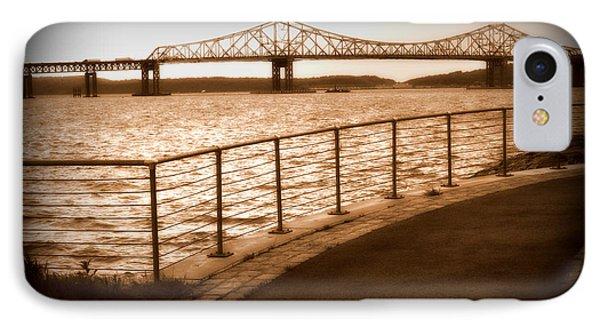 Tappan Zee Bridge Ix IPhone Case by Aurelio Zucco
