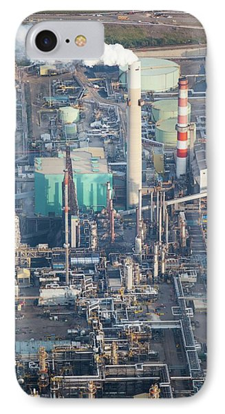 Tar Sands Deposit Mine IPhone Case by Ashley Cooper