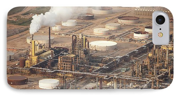 Tar Sands Deposits Mined Syncrude Mine IPhone Case by Ashley Cooper