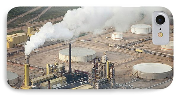 Tar Sands Deposits Syncrude Mine IPhone Case by Ashley Cooper