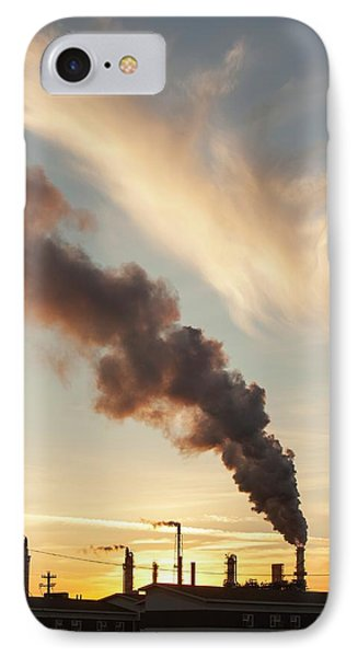Tar Sands Upgrader Plant Syncrude Mine IPhone Case by Ashley Cooper