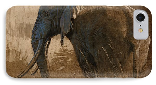 Tarangire Bull IPhone Case