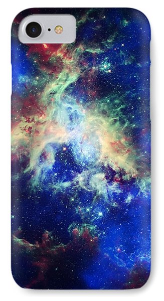 Tarantula Nebula 4 Phone Case by Jennifer Rondinelli Reilly - Fine Art Photography