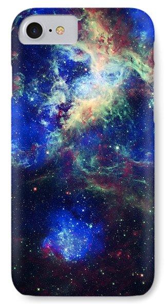 Tarantula Nebula 5 Phone Case by Jennifer Rondinelli Reilly - Fine Art Photography
