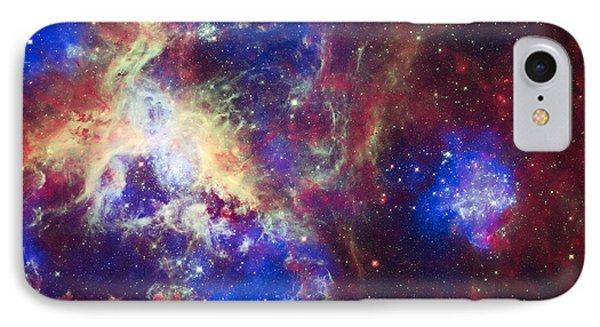 Tarantula Nebula 6  IPhone Case by Jennifer Rondinelli Reilly - Fine Art Photography