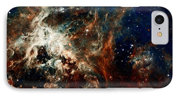 Tarantula Nebula Phone Case by Amanda Struz