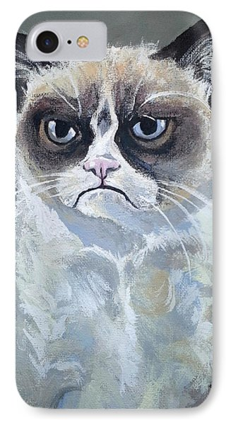 Tard - Grumpy Cat IPhone Case
