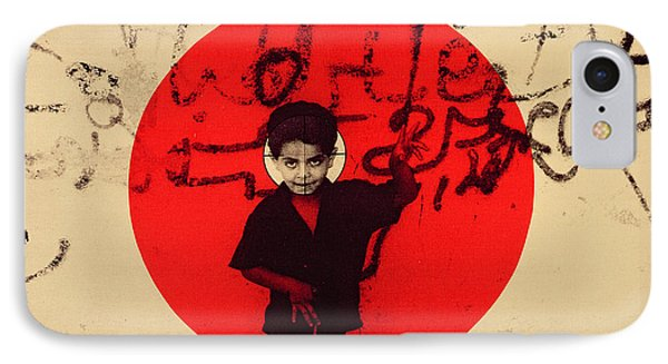 Target, 1992 Screen Print On Canvas IPhone Case by Laila Shawa