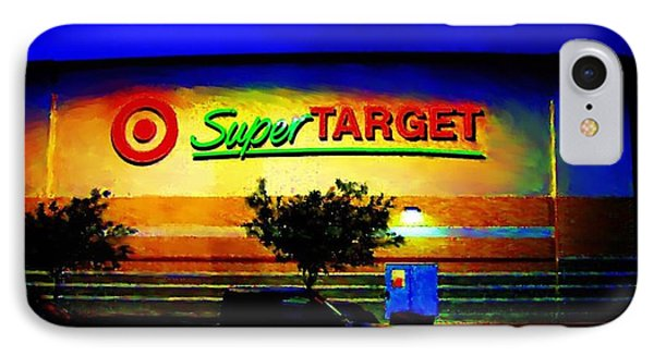 Target Super Store B IPhone Case
