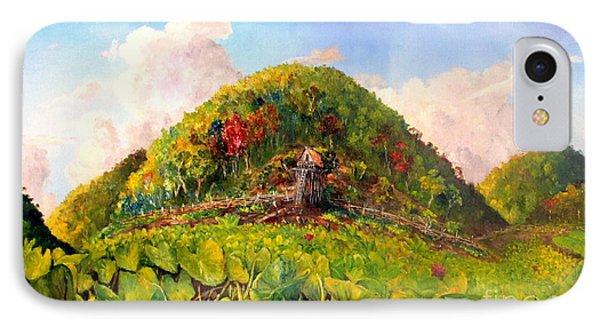Taro Garden Of Papua IPhone Case by Jason Sentuf