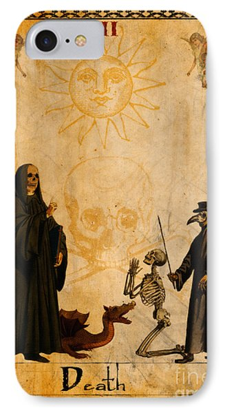 Tarot Card Death IPhone Case