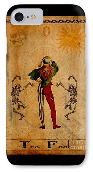 Tarot Card The Fool IPhone Case