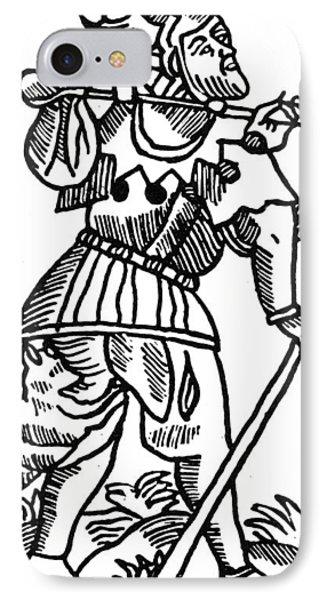 Tarot Card The Fool IPhone Case by Granger