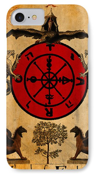 Tarot Card Wheel Of Fortune IPhone Case