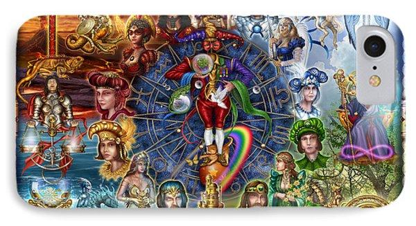 Tarot Of Dreams Phone Case by Ciro Marchetti