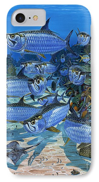Tarpon Alley In0019 IPhone Case by Carey Chen