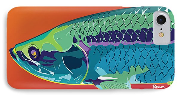 Tarpon Colors IPhone Case by Kevin Putman
