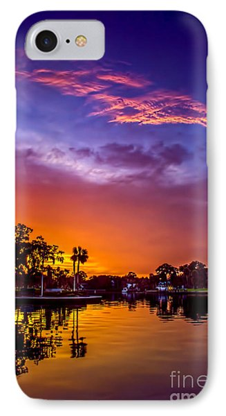 Tarpon Springs Glow IPhone Case by Marvin Spates