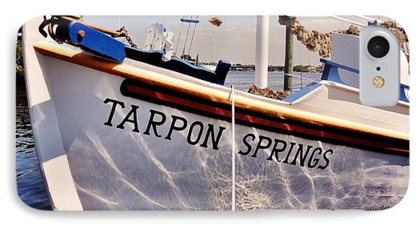 Tarpon Springs Spongeboat Phone Case by Benjamin Yeager