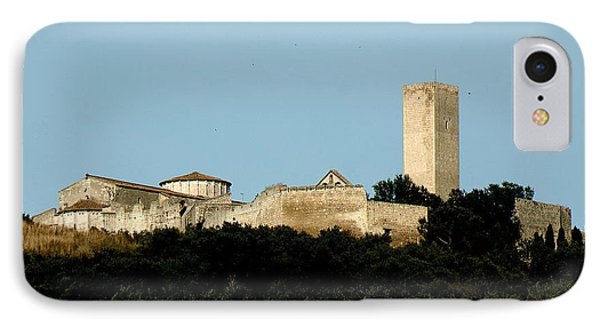 Tarquinia Landscape With Tower IPhone Case