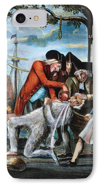 Tarring & Feathering, 1773 IPhone Case by Granger