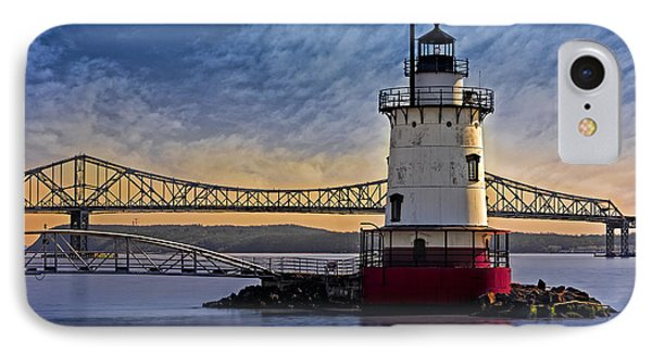 Tarrytown Light IPhone Case by Susan Candelario