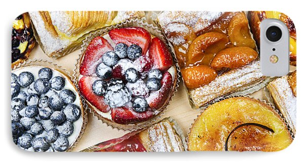 Tarts And Pastries IPhone Case by Elena Elisseeva