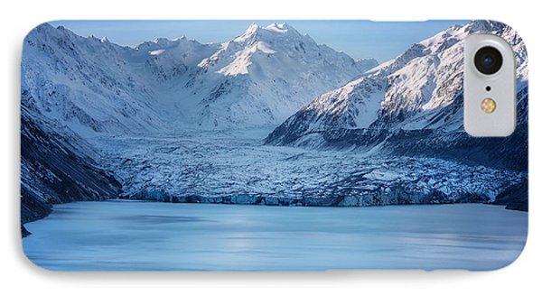 Tasman Glacier Nz IPhone Case by Kim Andelkovic