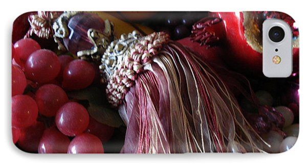 Tassel With Fruit IPhone Case